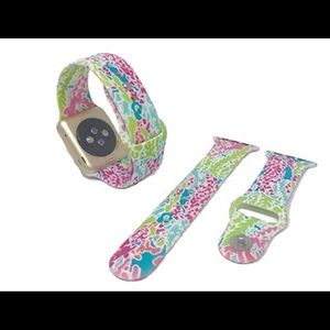 Lilly Pulitzer Apple Watch band Coral Reef 38/40mm
